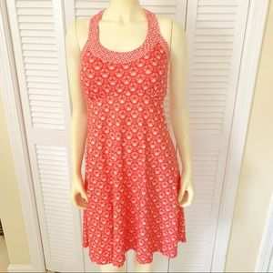 Prana Cali Tank Dress Summer Peach Botanica S